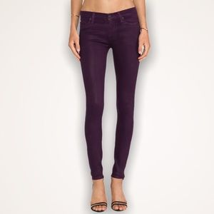 HUDSON Mulberry Nico Midrise Ankle Skinny Jeans
